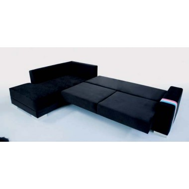 Γωνιακός καναπές-κρεβάτι-μπαούλο Σετ Angel