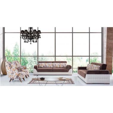 3θέσιος καναπές-κρεβάτι Pasific