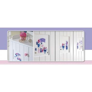 Βρεφικό Δωμάτιο Violet Σετ