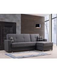 Γωνιακός καναπές Κρεβάτι Lora