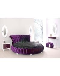 Στρογγυλό κρεβάτι Menekse