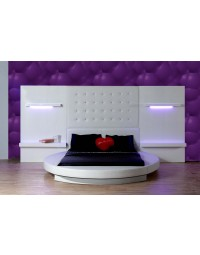 Στρογγυλό κρεβάτι Nilufer