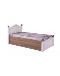 """Κρεβάτι με αποθηκευτικό (100*200) """"COUNTRY"""" CY-127"""
