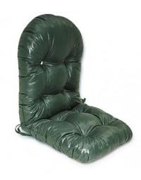 Κάθισμα Μπαμπού διπλό μεγάλη πλάτη οβάλ τζιν
