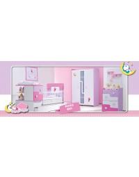 Βρεφικό Δωμάτιο Pork Girl Σετ