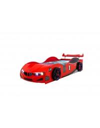 Κρεβάτι αυτοκίνητο Gt-1 Eco Full Κόκκινο