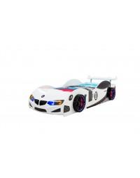 Κρεβάτι αυτοκίνητο Gt-1 Eco Full Ασπρο